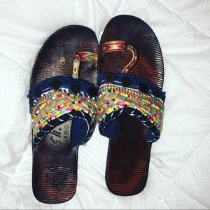 Never worn blowfish sandals